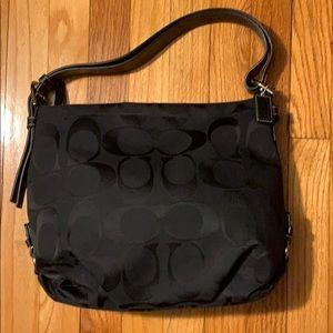 Coach Signature Duffle Hobo Bag
